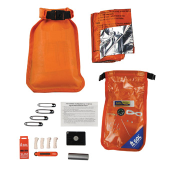 BACKWOODS WATERPROOF SURVIVAL KIT